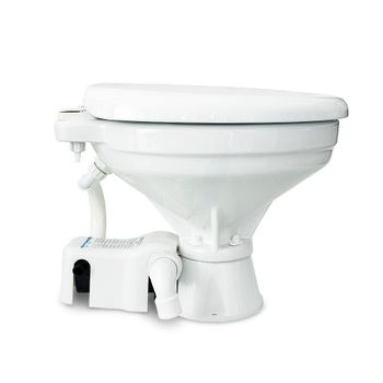 Albin Pump Marine Toilette Standard Elektro EVO Comfort 12V WC Boot – Bild 2
