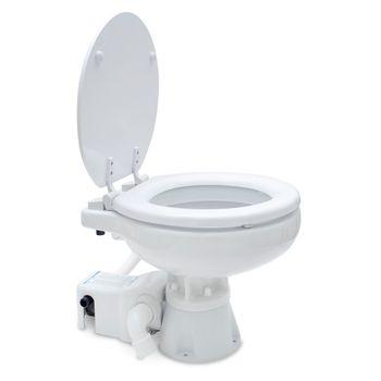 Albin Pump Marine Toilette Standard Elektro EVO Compact Low 12V WC Boot – Bild 2