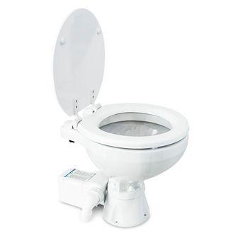 Albin Pump Marine Toilette Silent Elektro Compact 12V WC Boot – Bild 2