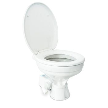 Albin Pump Marine Toilette Silent Elektro Comfort 12V WC Boot – Bild 2