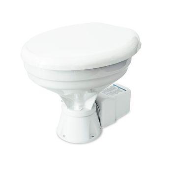 Albin Pump Marine Toilette Silent Elektro Comfort 12V WC Boot – Bild 3