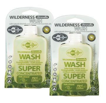 Sea to Summit Reinigungsmittel Wilderness Wash Citronella Doppelpack Waschmittel  – Bild 1