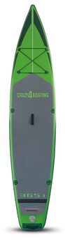 crazy4boating iSUP Board Surfren Stand up paddling aufblasbar – Bild 7