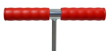 GAT Schachtdeckel-Haken 80 cm Aushebekralle Kunststoffgriff 12 mm Rundstahl verzinkt – Bild 2