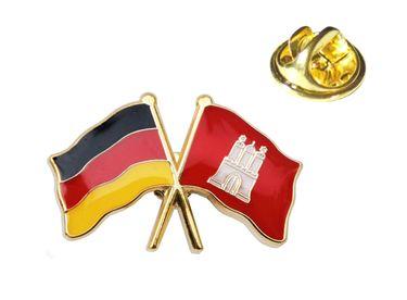MADSea Doppelpin Deutschland Hamburg Anstecknadel Pin  – Bild 1