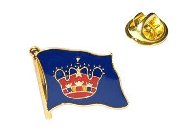 MADSea Flaggenpin Fehmarn Anstecknadel Pin  – Bild 1