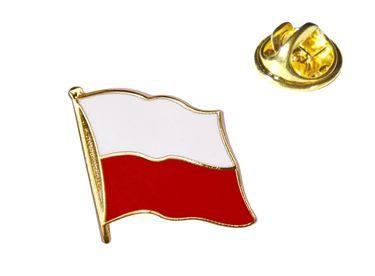 MADSea Flaggenpin Polen Anstecknadel Pin  – Bild 1
