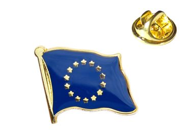 MADSea Elbsegler Premium Tuch mit Flaggenpin Europa dunkelblau Pin – Bild 2