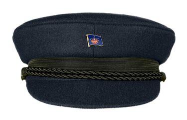 MADSea Elbsegler Premium Tuch mit Flaggenpin Fehmarn dunkelblau Pin – Bild 1