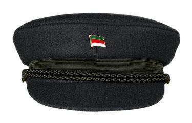 MADSea Elbsegler Premium Tuch mit Flaggenpin Helgoland schwarz Pin – Bild 1