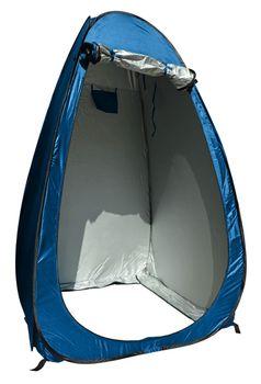 24ocean Klapptoilette grau mit Pop-Up Zelt Duschzelt Umkleidezelt - WC Klo Set – Bild 2