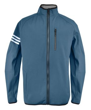 Adidas Herren Softshelljacke North Channel Funktionsjacke Windjacke Fleece gefüttert – Bild 3