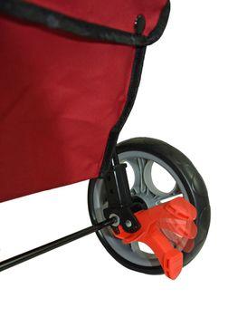 Yachticon Hundetrolley zum Falten Hundebuggy Hundewagen rot – Bild 6