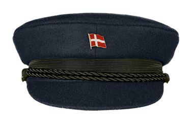 MADSea Elbsegler Premium Tuch mit Flaggenpin Dänemark dunkelblau Pin – Bild 1