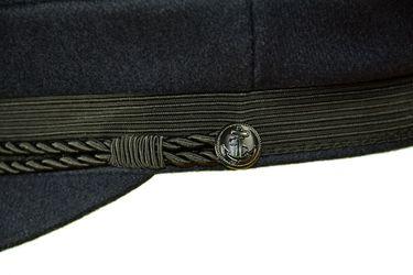 MADSea Elbsegler Premium Tuch mit Flaggenpin Dänemark dunkelblau Pin – Bild 4
