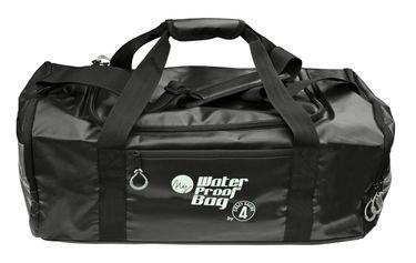 crazy4sailing Reisetasche PVC schwarz 50 Liter Segeltasche  – Bild 1