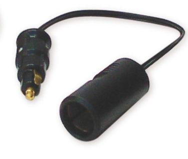 Navyline 12 Volt Adapterkabel 0,2 m (Stecker klein / Dose groß)