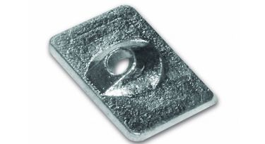 Zinc anode plaque 6,8,9,9,15 PS for Mariner / Mercury – Bild 1