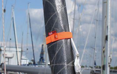 seaEQ Klettband Segeleinbinder HLT 1200 4er-Set Klettbinder Klettgurt – Bild 5