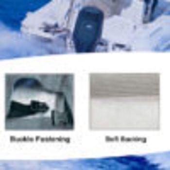 Oceansouth Motor-Abdeckung Full Cover kompatibel mit EVINRUDE Außenborder - ganze Schutzhülle für den Motor – Bild 2