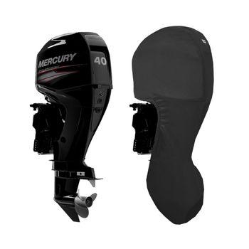 Oceansouth Motor-Abdeckung Full Cover kompatibel mit Mercury Außenborder - ganze Schutzhülle für den Motor – Bild 11