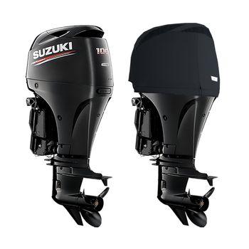 Oceansouth Motor-Abdeckung Vented Cover kompatibel mit Suzuki Außenborder - Schutzhülle für den Motor – Bild 9