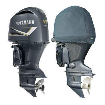 Oceansouth Motor-Abdeckung Half Cover kompatibel mit Yamaha Außenborder - halbe Schutzhülle für den Motor  – Bild 7
