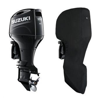 Oceansouth Motor-Abdeckung Full Cover kompatibel mit Suzuki Außenborder - Schutzhülle ganz für den Motor – Bild 8