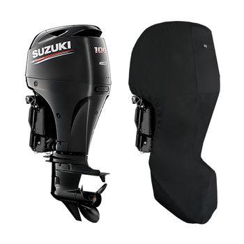 Oceansouth Motor-Abdeckung Full Cover kompatibel mit Suzuki Außenborder - Schutzhülle ganz für den Motor – Bild 10