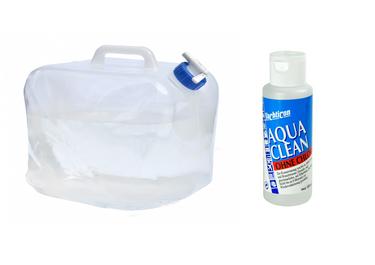 24ocean Wasser Set Nr. 2 Yachticon Aqua Clean AC 1000 ohne Chlor + Polyethylen Faltkanister 20 L – Bild 1