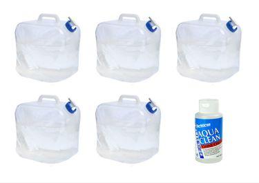 24ocean Wasser Set Nr. 1 Yachticon Aqua Clean AC 1000 ohne Chlor + 5 Polyethylen Faltkanister 20 L – Bild 1