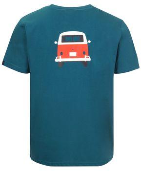 Elkline Herren T-Shirt Methusalem mit VW Bulli Print – Bild 5
