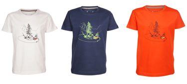 Elkline Kinder T-Shirt Curvybus mit VW Bulli Print – Bild 1