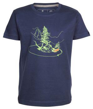 Elkline Kinder T-Shirt Curvybus mit VW Bulli Print – Bild 4