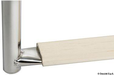 Navyline Edelstahl Klapp-Badeleiter mit 3 Stufen - 630mm - standard Ausführung – Bild 3