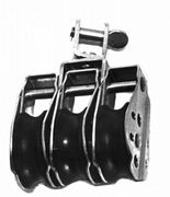 Dreierblock Seilrolle Umlenkrolle Windenrolle 10mm 001