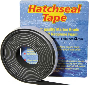 Yachticon Neopren Dichtungsband 3m x 19mm x 6mm