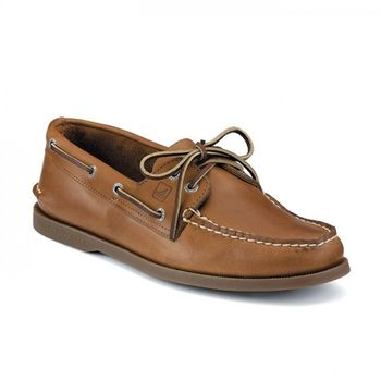 Sperry Top-Sider Damen Bootsschuh Authentic Original 2 Eye hellbraun Sahara