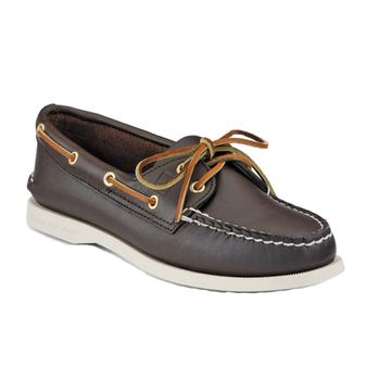 Sperry Top-Sider Damenschuh Authentic Original 2 Eye Classic Brown – Bild 1