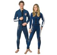 ASCAN Damen Herren Neoprenanzug Hose Jacke 2,5 mm lang 001