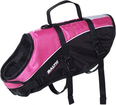 Baltic Hunde Schwimmweste Mascot pink (rosa) / schwarz (Mod. 0432)