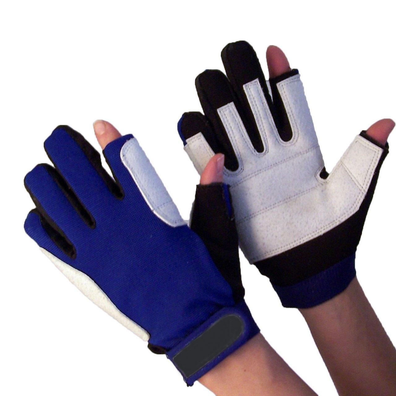 navyline damen herren segelhandschuhe neopren 2 finger. Black Bedroom Furniture Sets. Home Design Ideas