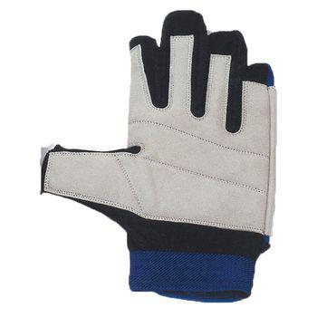 Navyline Damen Herren Segelhandschuhe Neopren 2 Finger frei warm – Bild 2