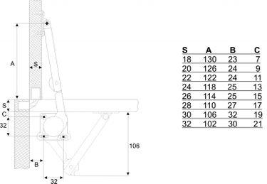 BMB Deckelhalter für Holz – Bild 3