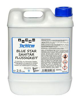 Yachticon Blue Star Sanitärflüssigkeit 2,5 Liter - Sanitärzusatz