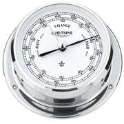 Wempe Messing verchromt Barometer Skiff Ø 110mm 001