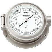 Wempe Barometer Nautik Nickel Ø 120mm - Schweremesser Druckmesser 001