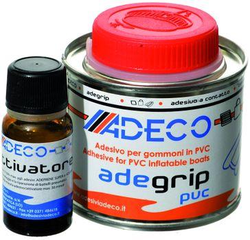 Adeco Adegrip PVC Schlauchboot Kleber 2-komponentig 430g