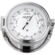 Wempe Messing verchromt Barometer Cup Ø 140mm 001