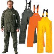 Ocean Rainwear Damen Herren Regenhose Latzhose  Modell Budget  001